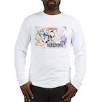 Tanaka Pin-up Poster Long Sleeve T-Shirt