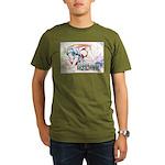 Tanaka Pin-up Poster Organic Men's T-Shirt (dark)