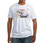 Tanaka Pin-up Poster Fitted T-Shirt