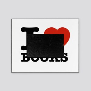 I heart Books Picture Frame