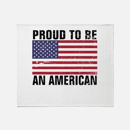 Proud to be an American - Distressed Stadium Blan