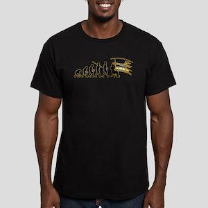 Air Traffic Controller Men's Fitted T-Shirt (dark)