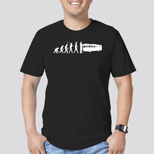 Bus Driver Men's Fitted T-Shirt (dark)