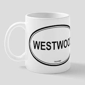Westwood oval Mug