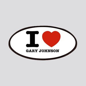 I heart Gary Johnson Patches