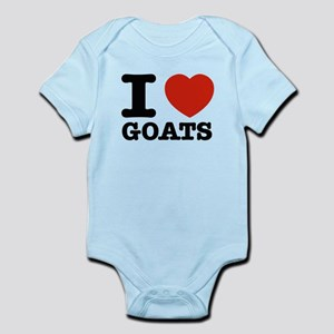 326c2a5aa38 I Love Goats Baby Clothes   Accessories - CafePress