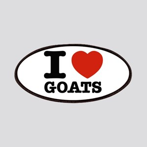 I heart Goats Patches