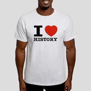I heart History Light T-Shirt
