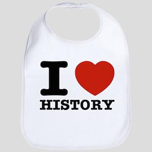 I heart History Bib
