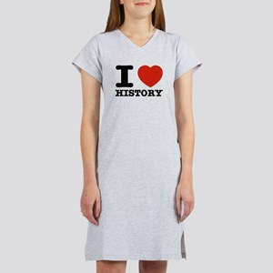 I heart History Women's Nightshirt