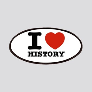 I heart History Patches