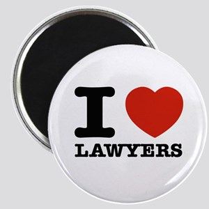 I heart Lawyers Magnet