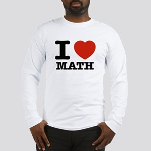 I heart Math Long Sleeve T-Shirt