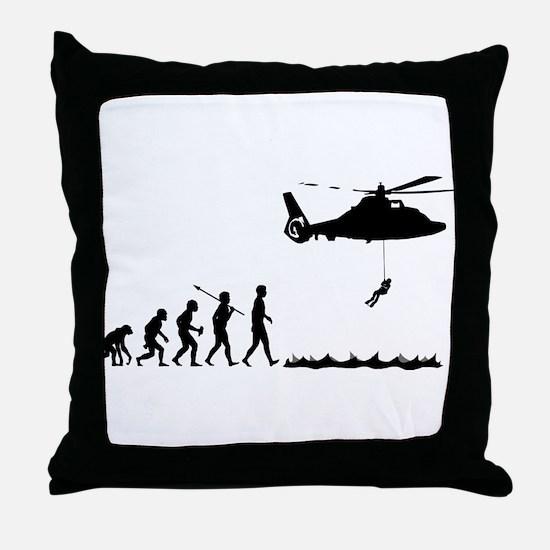 Coast Guard Throw Pillow