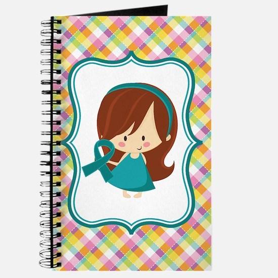 Teal Ribbon Girl Awareness Journal