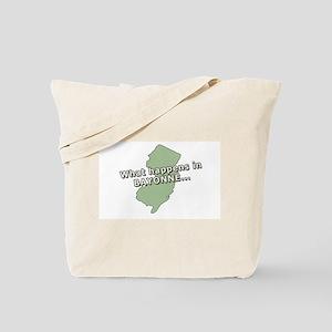 Bayonne New Jersey Tote Bag
