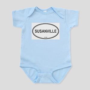 Susanville oval Infant Creeper