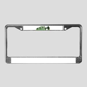 Coroner License Plate Frame