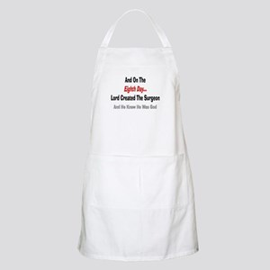 And on the eigth day SURGEON Apron