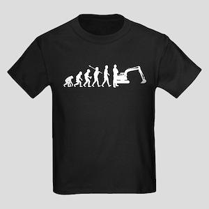Excavator Kids Dark T-Shirt