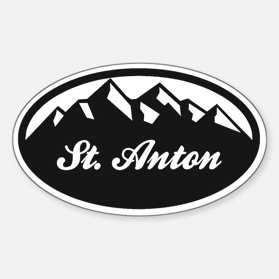 St. Anton Sticker (Oval)