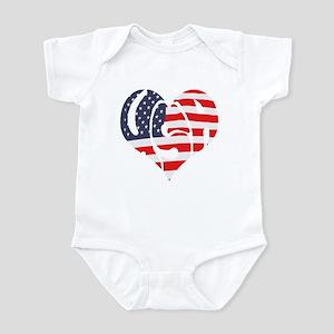 I Hart USA Infant Bodysuit