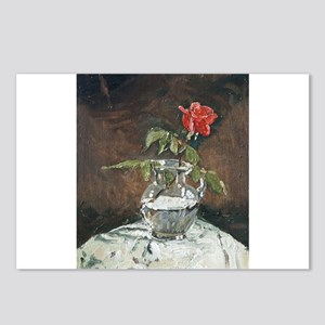 LONE ROSE Postcards (Package of 8)