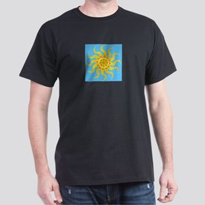 """Sunburst"" Black T-Shirt"