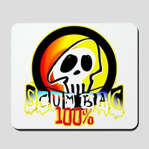 100 Percent Scum Bag Mousepad