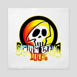 100 Percent Scum Bag Queen Duvet