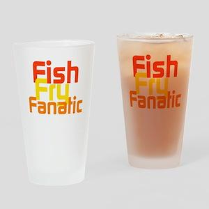Fish Fry Fanatic Drinking Glass