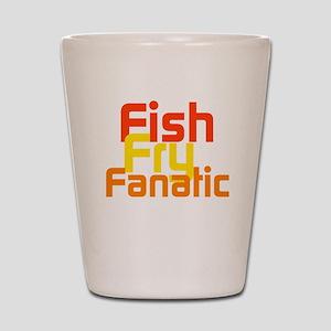 Fish Fry Fanatic Shot Glass
