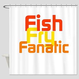Fish Fry Fanatic Shower Curtain