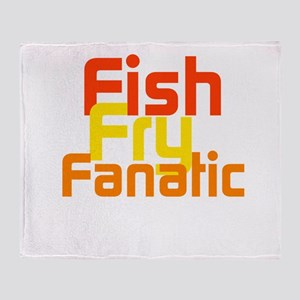 Fish Fry Fanatic Throw Blanket