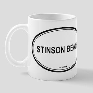 Stinson Beach oval Mug