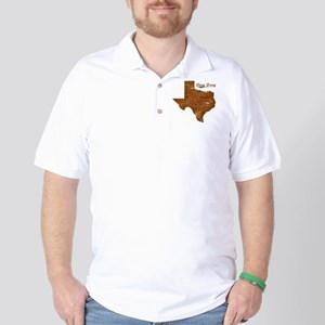 Ding Dong, Texas (Search Any City!) Golf Shirt
