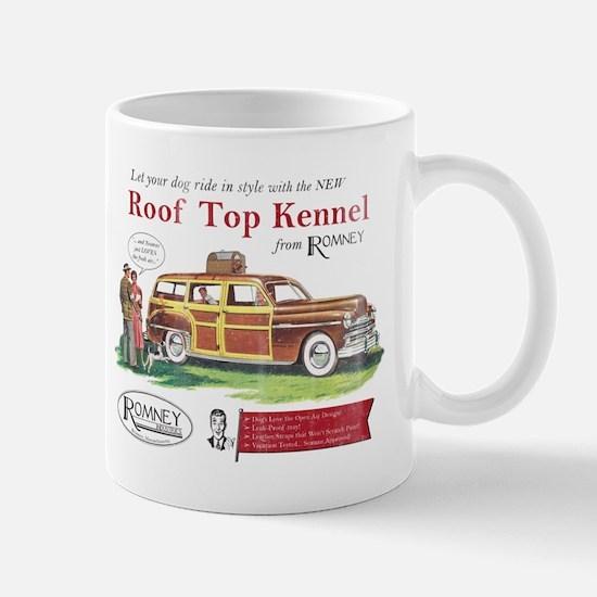 Vintage Romney Dog Mug