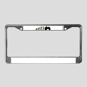 Farmer License Plate Frame