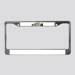 Geologist License Plate Frame