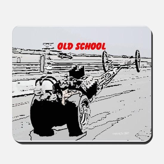 Old School1 Mousepad