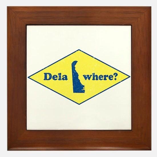 Vintage Delawhere? Framed Tile