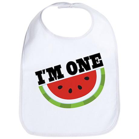 1st Birthday Watermelon Bib