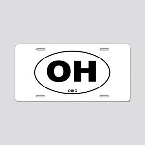 Ohio State Aluminum License Plate