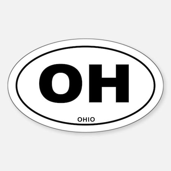 Ohio State Sticker (Oval)