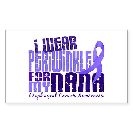 I Wear Periwinkle 6.4 Esophageal Cancer Sticker (R