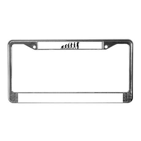 Lab Technician License Plate Frame