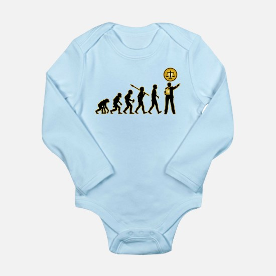 Lawyer/Attorney Long Sleeve Infant Bodysuit