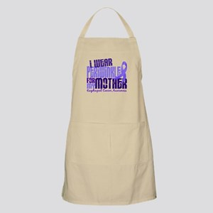 I Wear Periwinkle 6.4 Esophageal Cancer Apron