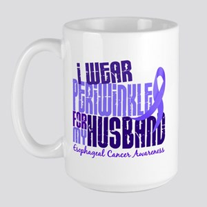 I Wear Periwinkle 6.4 Esophageal Cancer Large Mug