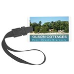 Olson Cottages Large Luggage Tag
